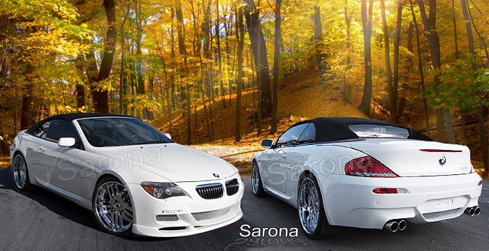 Custom BMW 6 Series Body Kit  Coupe & Convertible (2004 - 2010) - $1980.00 (Manufacturer Sarona, Part #BM-062-KT)